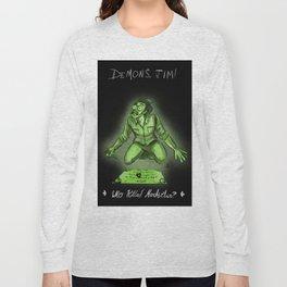 Demon Jim - Who Killed Markiplier Long Sleeve T-shirt