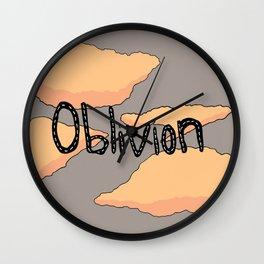 OBLIVION Wall Clock