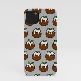 Xmas Puddings iPhone Case