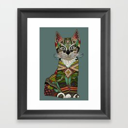 pixiebob kitten juniper Framed Art Print