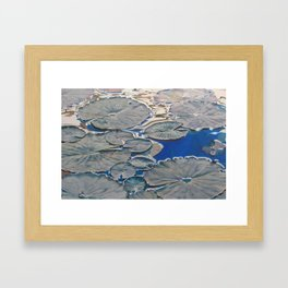 Within Islands Framed Art Print