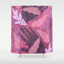 Collecting Pine Cones Shower Curtain