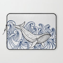 Whale Then Laptop Sleeve