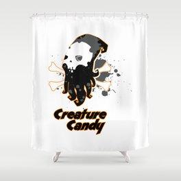 Evil Cephalopod Shower Curtain