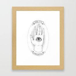 Hand-Eye Coordination Framed Art Print