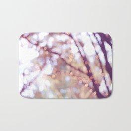 Glitter in the air Bath Mat