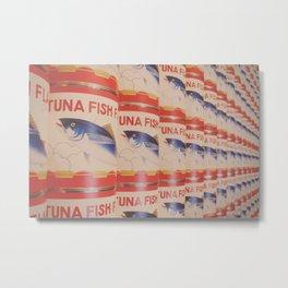 Tuna Fish Metal Print