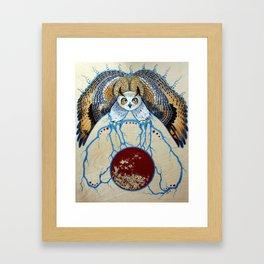 Ganawenimjige (Protector) Framed Art Print