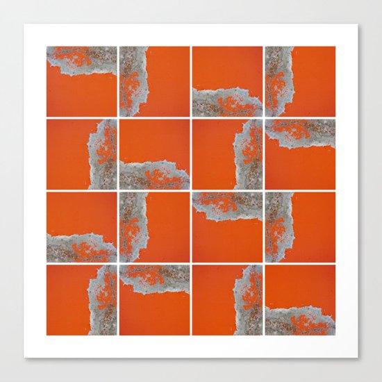 Wall Pattern Canvas Print