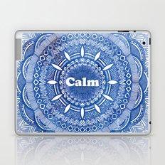 Calming Serenity Blue Mandala Laptop & iPad Skin