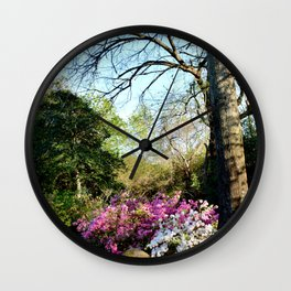 Muscogee (Creek) Nation - Honor Heights Park Azalea Festival, No. 08 of 12 Wall Clock