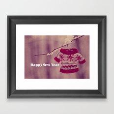 Happy New Year preparation;) Framed Art Print