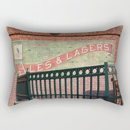Ales and Lagers Rectangular Pillow