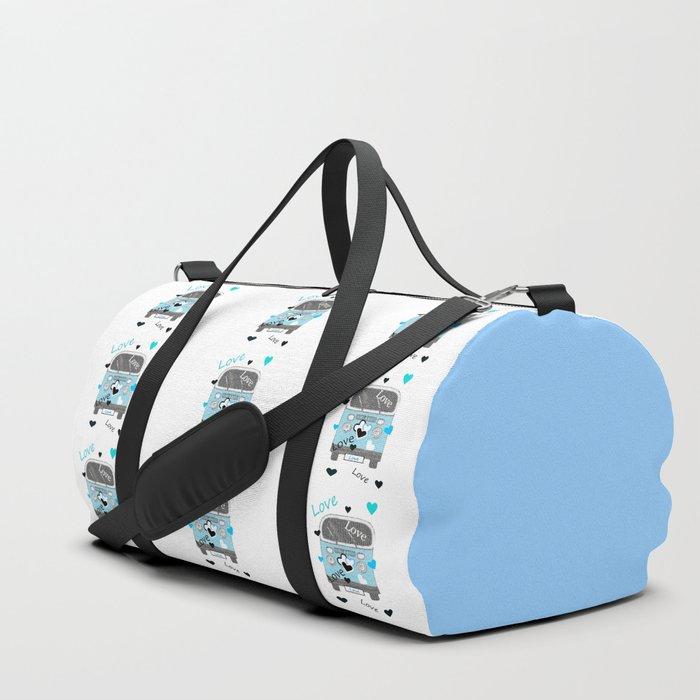 Love Bus Duffle Bag