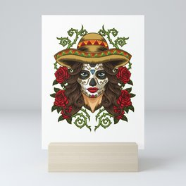 La Calavera Catrina - Lady of the Dead Mini Art Print
