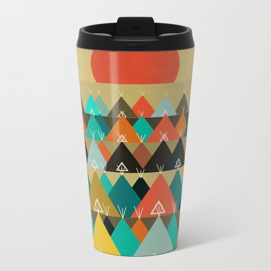 Tipi Moon Metal Travel Mug