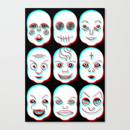 Pediophobia Canvas Print