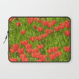 tulips field Laptop Sleeve