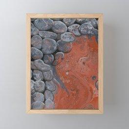 River of Lava Framed Mini Art Print