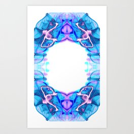 Circle of Light Art Print