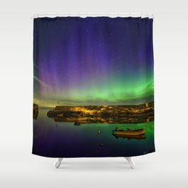 "Lanescove Aurora ""redo"" Shower Curtain"