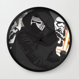 Kylo Ren (Vector Art) Wall Clock