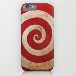 Sideshow Carnival Spiral iPhone Case