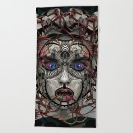 Google Medusa Beach Towel