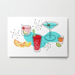 Cabo Cocktails Metal Print
