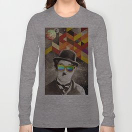 Public Figures Collection - Chaplin Long Sleeve T-shirt