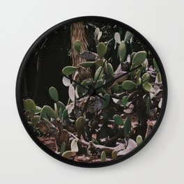 Prickly pals II Wall Clock