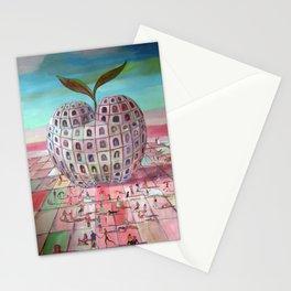 La gran manzana Stationery Cards