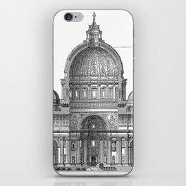 St. Peter Basilica - Rome, Italy iPhone Skin