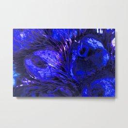 Blue Owly DPG170707a RB Metal Print