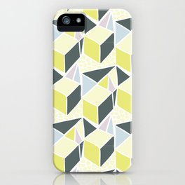 3D Triangles iPhone Case
