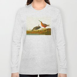 Red-breasted Snipe Bird Long Sleeve T-shirt