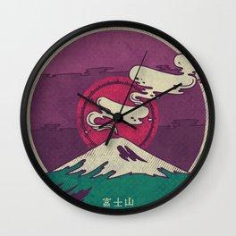 Mount Fuji Wall Clock