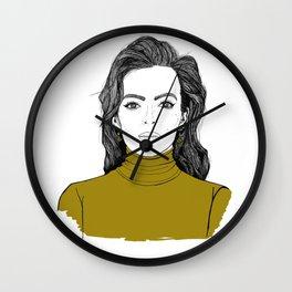 Lady Jodie Wall Clock