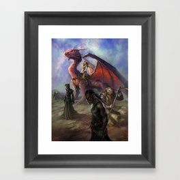 PG Framed Art Print