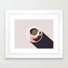 Cup of Coffee Framed Art Print
