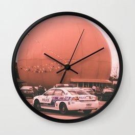 Time for a juice  , the big orange julep Montréal Québec Canada Wall Clock