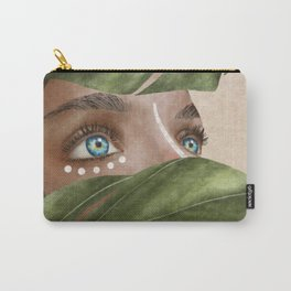 Woman with Vision Carry-All Pouch
