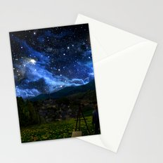 Painting the Stars Stationery Cards