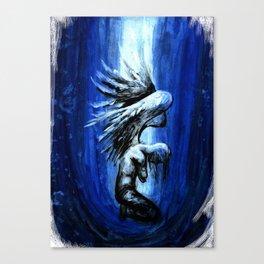 Thesaurus. Blue angel. Canvas Print