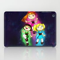 powerpuff girls iPad Cases featuring Powerpuff girls by Lyxy