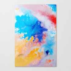 Bursting Canvas Print