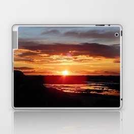 Ground Level Sunset Laptop & iPad Skin