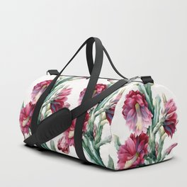 Flowering cactus Duffle Bag