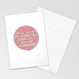 Feeling Urge to Make Out with an Accountant T-Shirt Stationery Cards