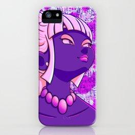 Violet Viola iPhone Case